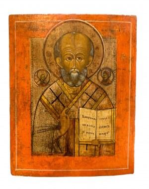 Ikona, św. Mikołaj, Rosja