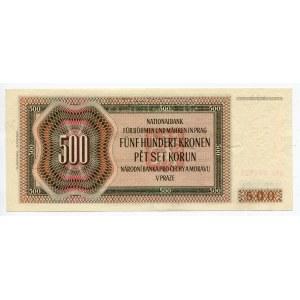Bohemia & Moravia 500 Korun 1942 Specimen