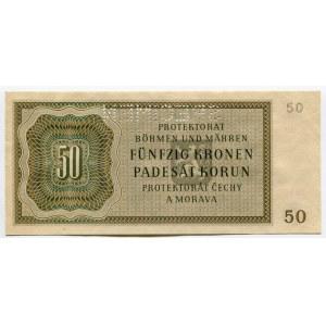 Bohemia & Moravia 50 Korun 1944 Specimen