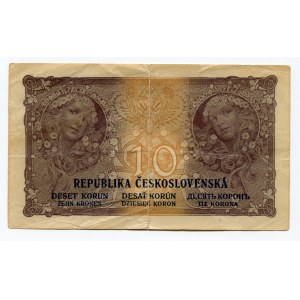 Czechoslovakia 10 Korun 1919