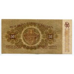 Czechoslovakia 50 Korun 1919