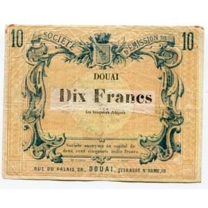 France 10 Francs 1870
