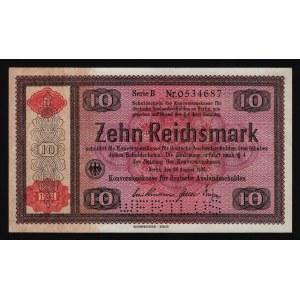 Germany - Third Reich 10 Reichsmark 1934