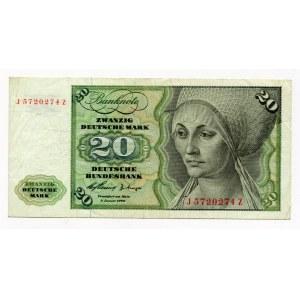 Germany - FRG 20 Deutsche Mark 1960