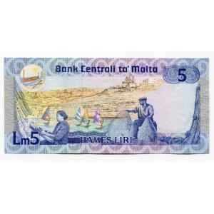 Malta 5 Liri 1986 (1967)