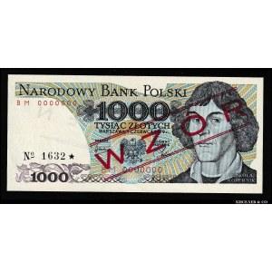 Poland 1000 Zlotych 1979 Specimen