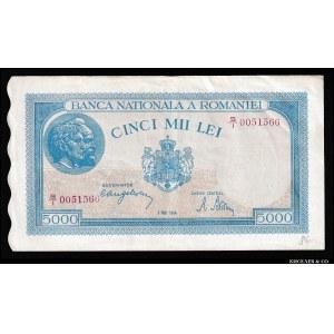 Romania 5000 Lei 1944