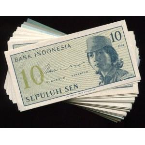 Indonesia 45 x 10 Sen 1964