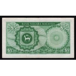 Malaysia 5 Ringgit 1976