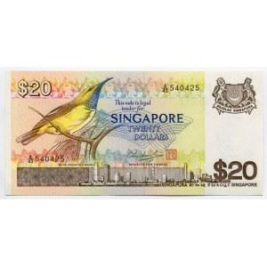 Singapore 20 Dollars 1979