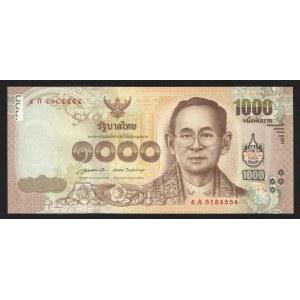 Thailand 1000 Baht 2015
