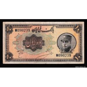 Iran 10 Rials 1934 Rare