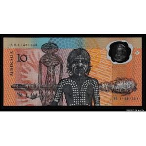 Australia 10 Dollars 1988