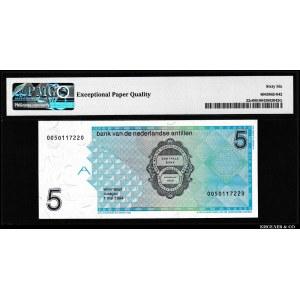 Netherlands Antilles 5 Gulden 1994 PMG 66 EPQ