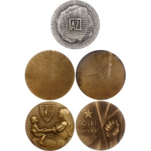 Czechoslovakia Orlov City Lot of 5 Medals 1980th