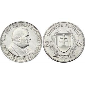 Slovakia 20 Korun 1939