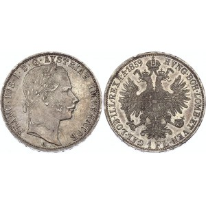 Austria 1 Florin 1859 A