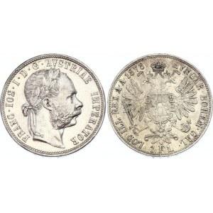 Austria 1 Florin 1878