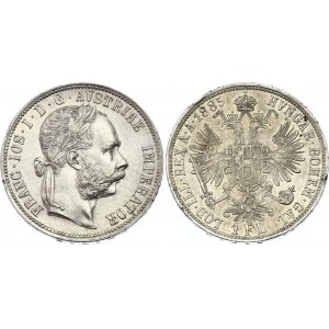 Austria 1 Florin 1885