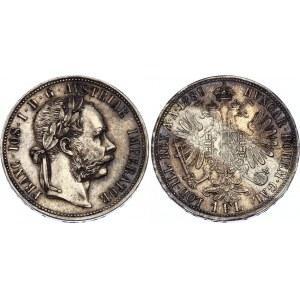 Austria 1 Florin 1889