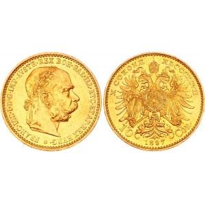 Austria 10 Corona 1897
