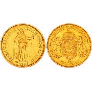 Hungary 10 Korona 1905 KB