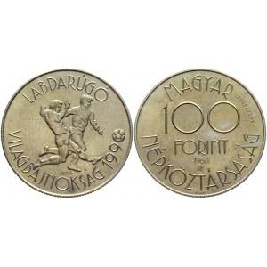 Hungary 100 Forint 1988 Proba Probaveret Rare