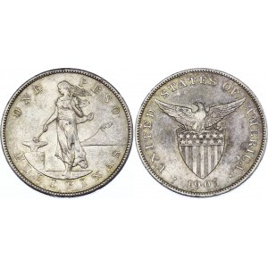 Philippines 1 Peso 1905 S