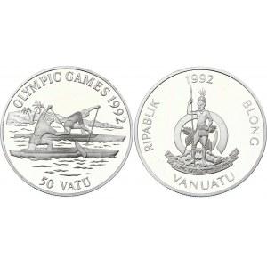 Vanuatu 50 Vatu 1992