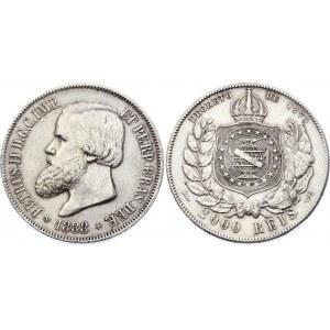 Brazil 2000 Reis 1888