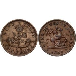 Canada Upper Penny 1857