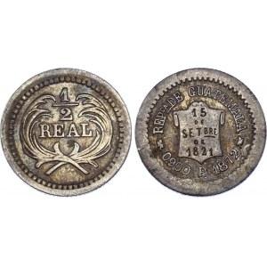 Guatemala 1/2 Real 1872 P