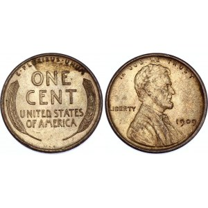United States 1 Cent 1909 VDB