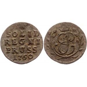 Russia - Prussia Solidus 1760 R1