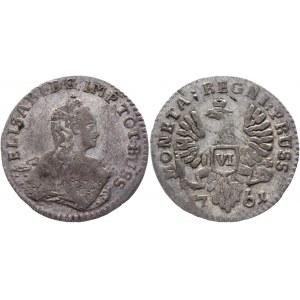 Russia - Prussia 6 Groszy 1761