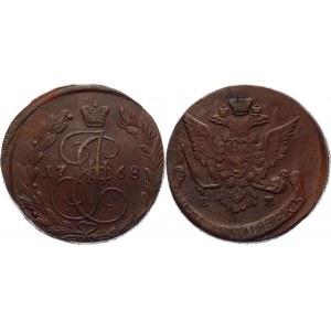Russia 5 Kopeks 1768 ЕМ