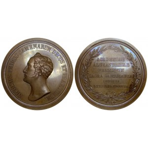 Russia - Finland Medal In Memory of the 200th Anniversary of the Alexander University in Finland 1840 R1