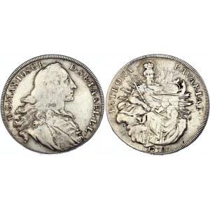 German States Bavaria 1/2 Thaler 1770