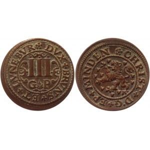 German States Braunschweig-Luneburg-Celle 3 Pfennig 1620 -1622