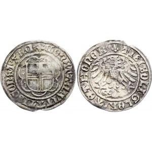German States Constance Batzen (4 Kreuzer) 1499 - 1533 (ND)