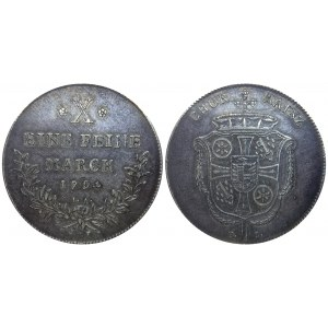 German States Mainz Thaler 1794 FS IA