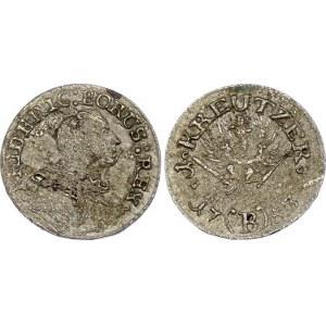 German States Prussia 1 Kreuzer 1753 B