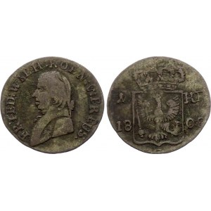 German States Prussia 1 Kreuzer 1808 G