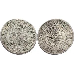 German States Saxony-Albertine 1/24 Thaler 1628 HI