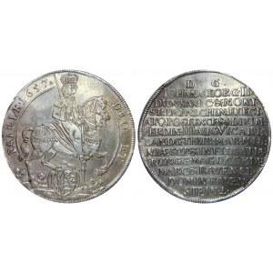 German States Saxony-Albertine Thaler 1657