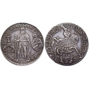 German States Teutonic Order 1/4 Taler 1612 Hall