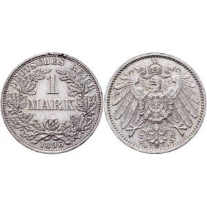 Germany - Empire 1 Mark 1896 A