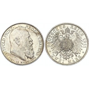 Germany - Empire Bavaria 2 Mark 1911 D