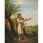 Aleksander KOTSIS (1836-1877), Chłopak strzelający z klucza, przed 1863
