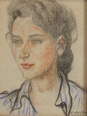 Nina ALEXANDROWICZ (1877-1946), Portret kobiety